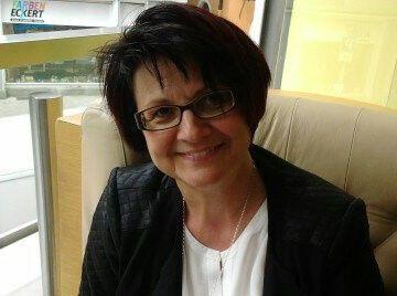 Foto der VHS Außenstellenleiterin Schlammersdorf, Maria Stopfer.